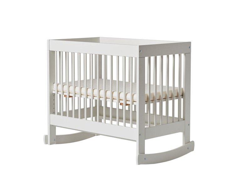 Pinio Basic łóżeczko Dostawka 89x50 Z Materacem Płozami I