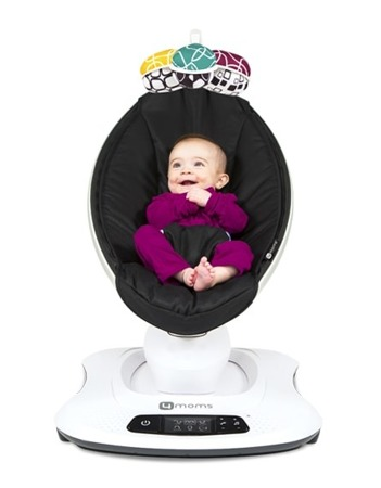 4moms Fotelik leżaczek bujaczek dla niemowląt mamaRoo Classic Black