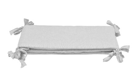 Bellamy Ochraniacz do łóżeczka lniany paseczki