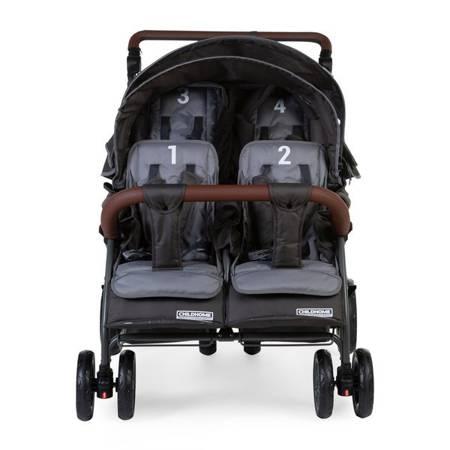 Childhome, Quadruple wózek dla żłobków oraz dla rodzin  4-osobowy