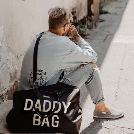 Childhome Torba Daddy Bag czarna