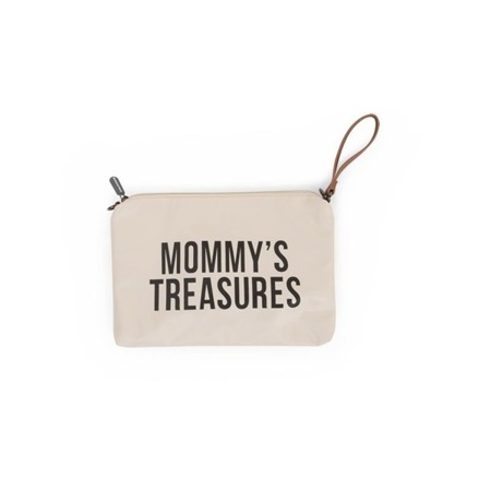 Childhome Torebka - saszetka Mommy's Treasures kremowa