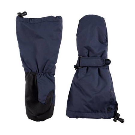 Ducksday Rękawiczki narciarskie ocieplane z długim mankietem rozmiar M blue