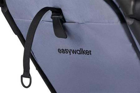 Easywalker Jackey Wózek spacerowy Pebble Grey