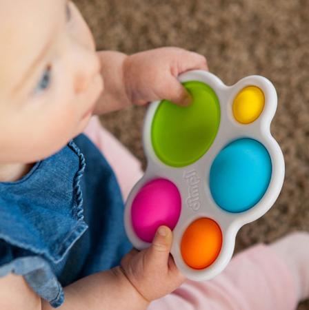 Fat Brain Toys Zabawka sensoryczna Bąbelki Dimpl