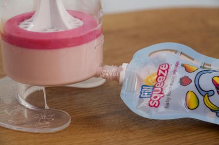 Fill'n Squeeze zestaw startowy + łyżeczka