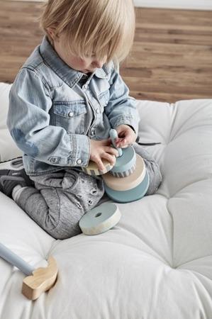 Kids Concept Edvin, Wieża drewniana zielona