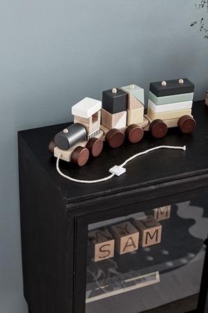 Kids Concept Neo Pociąg drewniany Natural