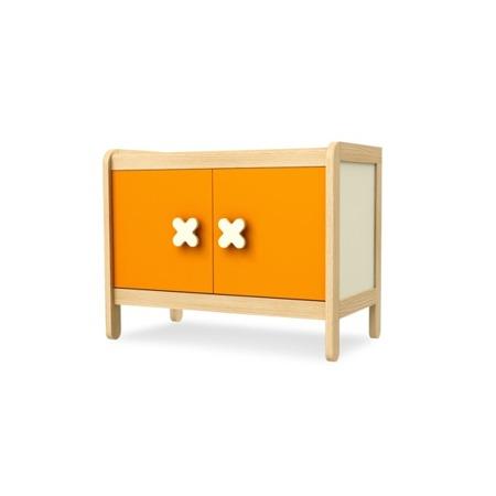Kredens 2 drzwiowy pomarańczowyTimoore Simple