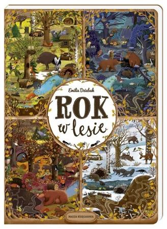 """Książka """"Rok w lesie"""""""
