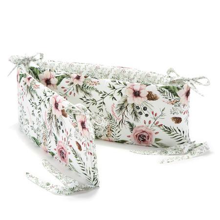 La Millou Ochraniacz do łóżeczka Wild Blossom & Forest
