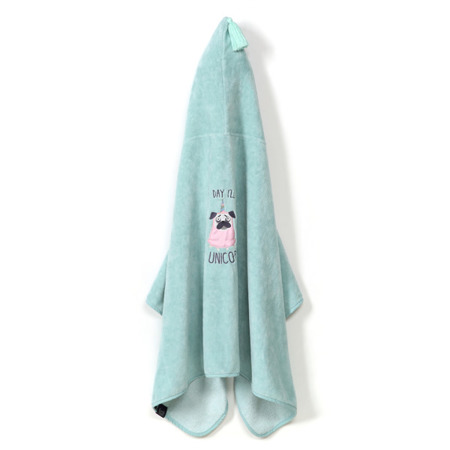La Millou Ręcznik Bamboo Soft Kid Doggy Unicorn mint