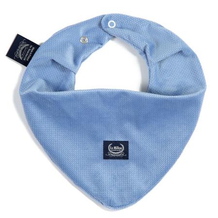 La Millou Velvet Collection Mięciutka apaszka Dove Blue