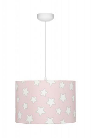 Lampa wisząca dla dzieci Pink Stars.