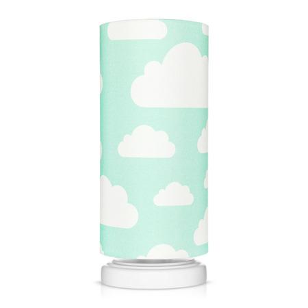 Lampka nocna dla dzieci Chmurki Mint