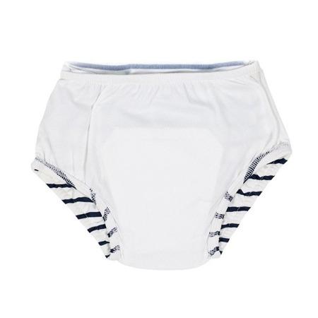 Lassig Kostium do pływania jednocześciowy z wkładką chłonną Sailor navy UV 50+ 12 m-cy
