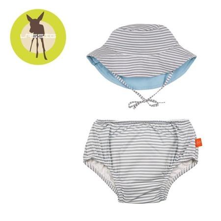 Lassig Zestaw kapelusz i majteczki do pływania z wkładką chłonną Submarine UV 50+ 6 m-cy
