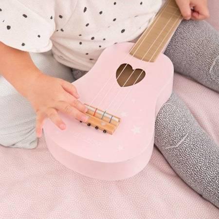 Little Dutch Gitara różowa