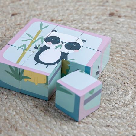 Little Dutch Puzzle-kostki 6 elementów Zwierzątka