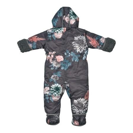 Lodger Skier Botanimal Kombinezon zimowy dla niemowlaka Raven 12-18 m-cy