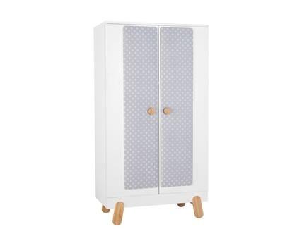 Nakładka tekstylna na szafę 2-drzwiową  Pinio Iga