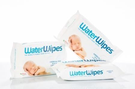 Nawilżające chusteczki nasączone czystą wodą 60szt., WaterWipes