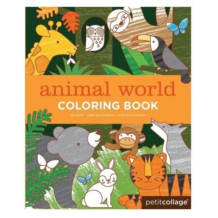 Petit Collage Kolorowanka Świat Zwierząt