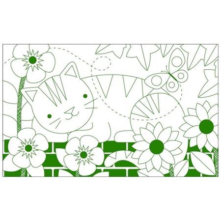 Petit Collage Kolorowanka W ogrodzie