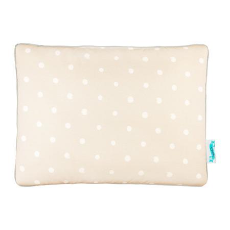 Poduszka bawełniano - welurowa Lovely Dots Beige