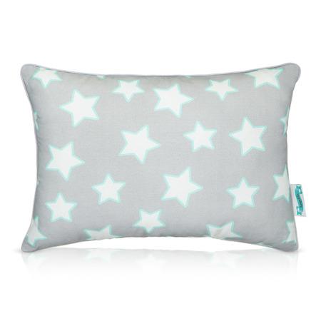 Poduszka ozdobna Grey & Mint Stars