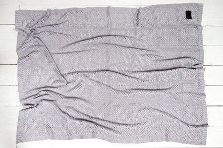 Sleepee Kocyk bambusowy Ultra Soft Smoky Grey
