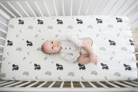 Sleepee Prześcieradło do łóżeczka We Care Wiewióry 120x60