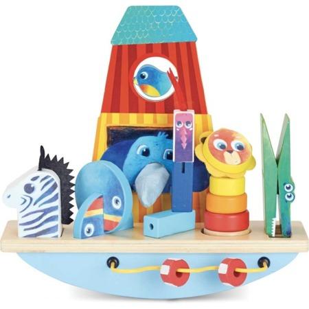 Vilac Gra zręcznościowa balans Arka Noego
