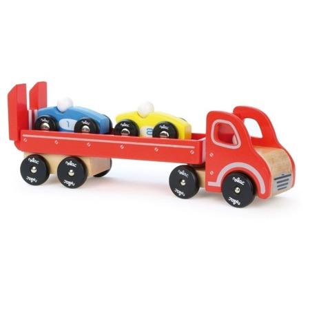 Vilac Laweta drewniana z 2 samochodzikami